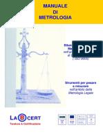 Manuale Di Metrologia Scientifico-legale - Rev 14