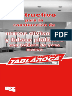 Instructivo de Tablaroca