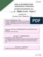 English 2016 paper 1