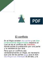 Conflicto y Proceso