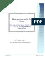 Quelques secrets du Coran