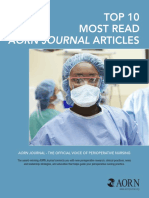 Top 10 Most Read AORN Journal Articles