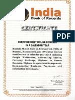 Ibr Certificates