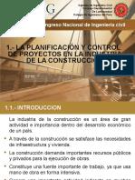 Capitulo 1.- La Planificacion y Control de Proyectos