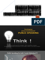 Public Speking Part 1