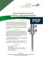 CABEZAL DESAIREADOR