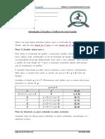 Intro Funções e Gráficos de Funções