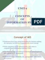 MIS UNIT-1