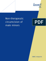 KNMG Viewpoint Non Therapeutic Circumcision of Male Minors 27-05-2010 v2