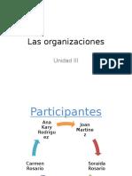 Las Organizaciones1