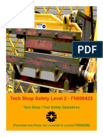 Tech Shop Safety Level 2