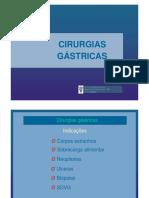 Cirurgias Gástricas em animais.