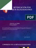 Intoxicación por beta bloqueadores.pptx
