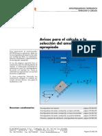 09 Avisos Para La Selección y El Cálculo Del Amortiguador Hidráulico Correcto