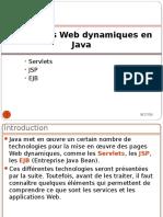 Les Pages Web Dynamiques en Java