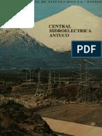 Central hidroeléctrica Antuco- 1981
