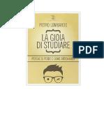 Pietro Lombardo - La Gioia Di Studiare Perché Si Perde e Come Ritrovarla (2014)