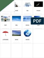 Flashcards Weather Pinyin