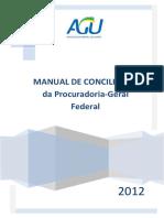 Manual de Conciliação da Procuradoria Geral Federal