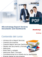 MicroStrategy Report Services - Documents and Dashboards