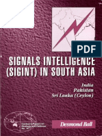 117 Signals Intelligence (SIGINT) in South Asia India Pakistan Srilanka (Ceylon) Desmond Ball P134