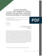 MAPEANDO LOS ESTUDIOS VISUALES EN AMERICA LATINA