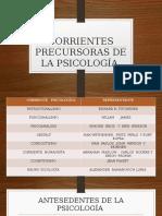 CORRIENTES PRECURSORAS DE LA PSICOLOGÍA.pptx