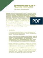Introducción a La Implementación de Controladores PID Análogos- Juan Contreras Montes