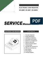 Sam4s ER-380 Service manual