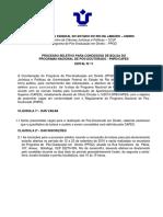 Edital Pos-doutorado Ndeg3