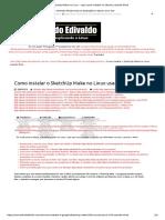 SketchUp Make No Linux - Veja Como Instalar No Ubuntu Usando Wine