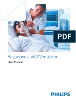 Respironics V60 Users Manual