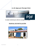 Manual Instalación AM-tubosol 3500 + Fotos estructura.