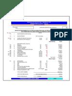 Formato de Estructura de Costos en Venezuela