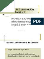 Concepto y Ubicacion Del Derecho Constitucional