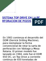 78094023 Sistema Top Drive en La Perforacion de Pozos