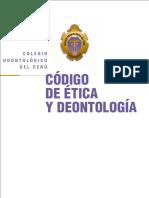 Codigo de Etica y Deontologia 2016