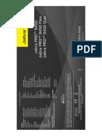 81-03555_revc_jabra Pro 9450, 9450 Pro Flex and 9450 Pro Duo_qsg_na