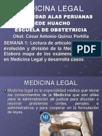 1ºsemanamedicina Legal