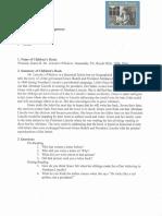 EDUC 128 Children's Literature Unit Plan