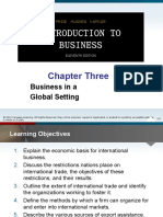 PPT Chapter 3 Business in Global Setting