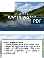 CHAPTER 3 WATER WORLD