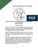 Cadena de Union de Alfredo Corvalan