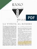 La Vuelta Al Hombre. Vicente Magdaleno.