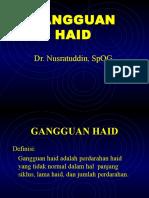 GANGGUAN HAID.ppt