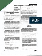 Reglamento a La Ley de La Zona Libre Turistica Del Departamento de Islas de La Bahia