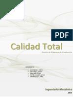 Calidad Total Informe