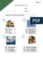 Worksheet 1st Cycle 1