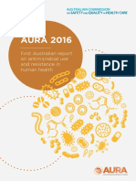 AURA 2016 First Australian Report on Antimicroibal Use and Resistance in Human Health