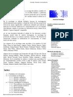 Sociología - Wikipedia, La Enciclopedia Libre